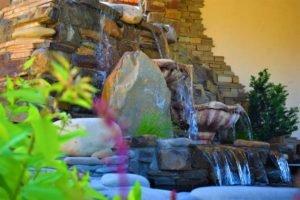 как создать фонтан в саду, макет фонтана, схема фонтана, ландшафтный дизайн Мелитополь