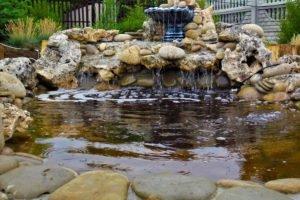 вода в саду, романтические мини пруды, мини пруд, ландшафтный дизайн