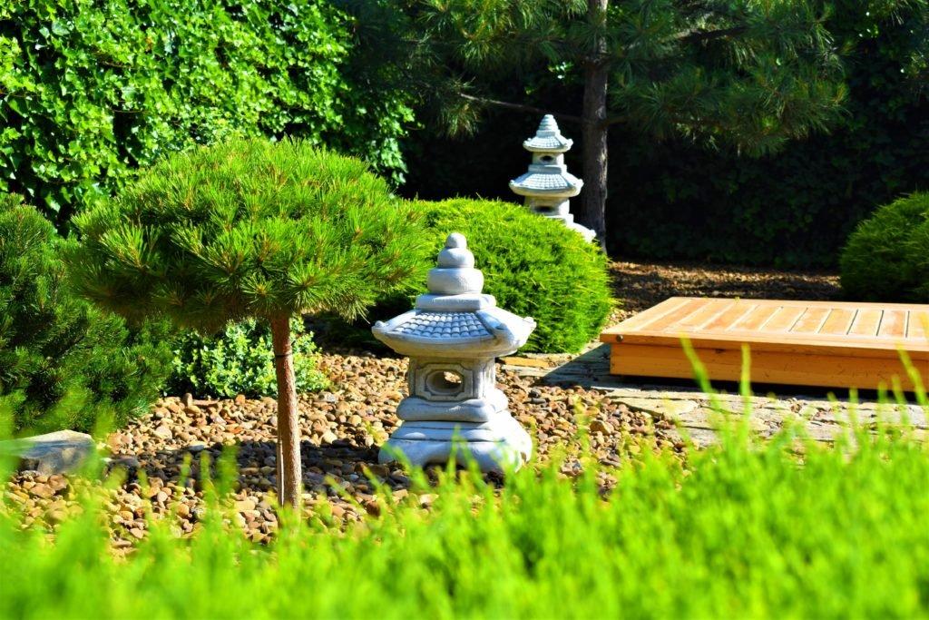 Сад в японском стиле, ландшафтный дизайн в японском стиле, ландшафтный дизайн в Запорожье, ландшафтный дизайн