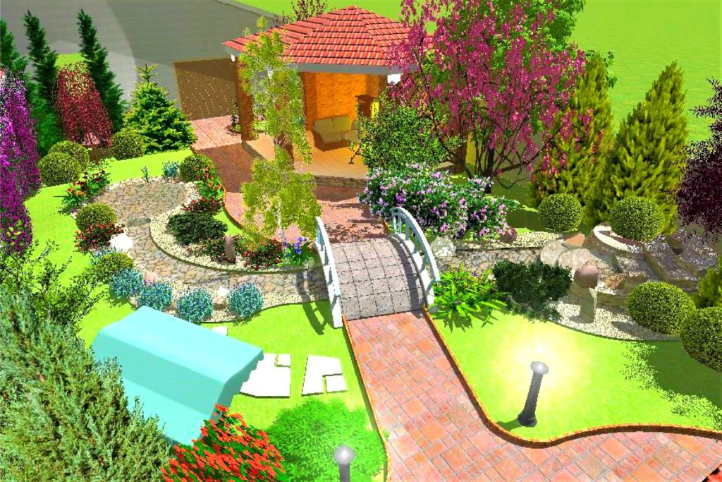 проект озеленения и благоустройства дачи, проект озеленения дачи, проетк благоустройства дачи, ландшафтный дизайн