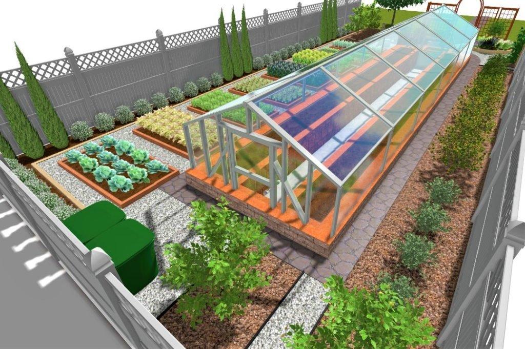 Проектирование декоративного огорода, создание декоративного огорода, 3д модель декоративного огорода, проект ландшафтного дизайна