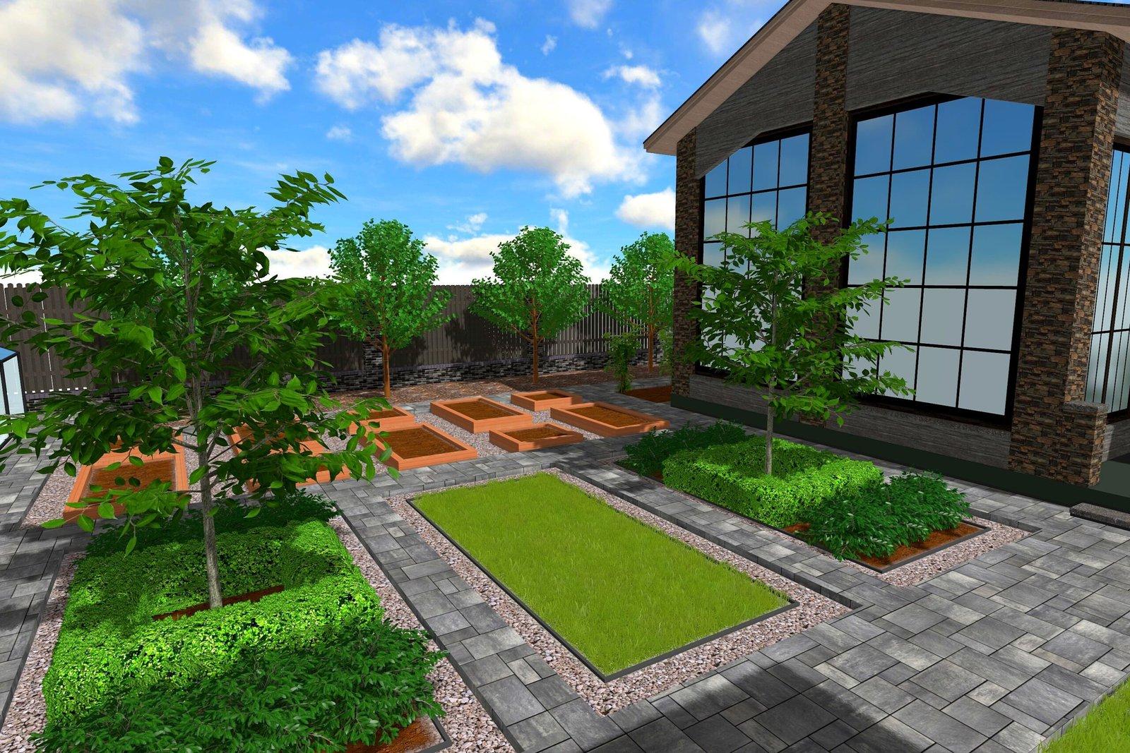Как создать проект ландшафтного дизайна в стиле модерн, как создать проект участка в стиле модерн, как создать проект сада в стиле модерн