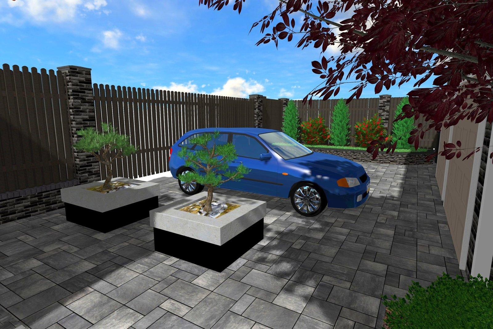 Проект парковки в саду Киев, проект мини сад Киев, проектирование парковок Киев, ландшафтный дизайн Киев
