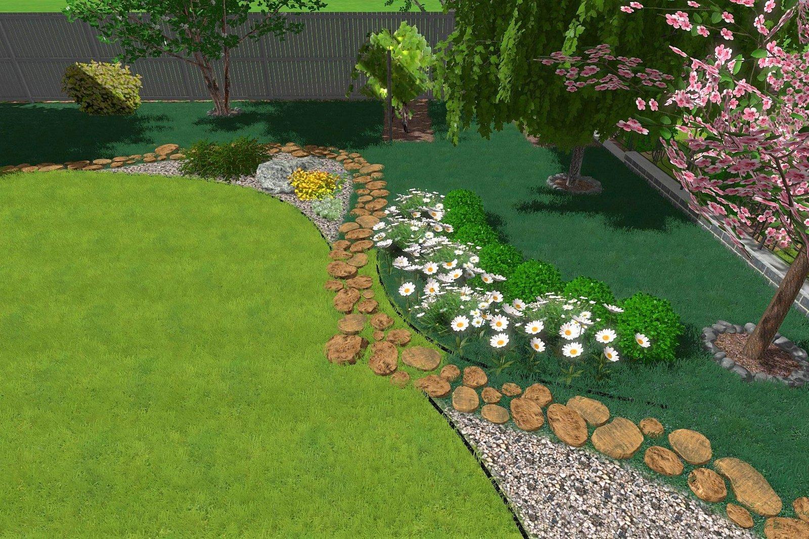 Трехмерное моделирования ландшафтного дизайна сада в Киеве, Моделирование ландшафтного дизайна сада в Киеве, 3д ландшафтного дизайна сада в Киеве