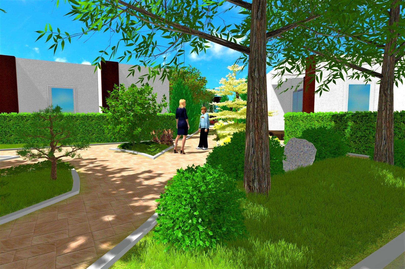 Визуализация парка в 3d в Киеве, визуализация парка 3d Киев, 3d визуализация парка в Киеве