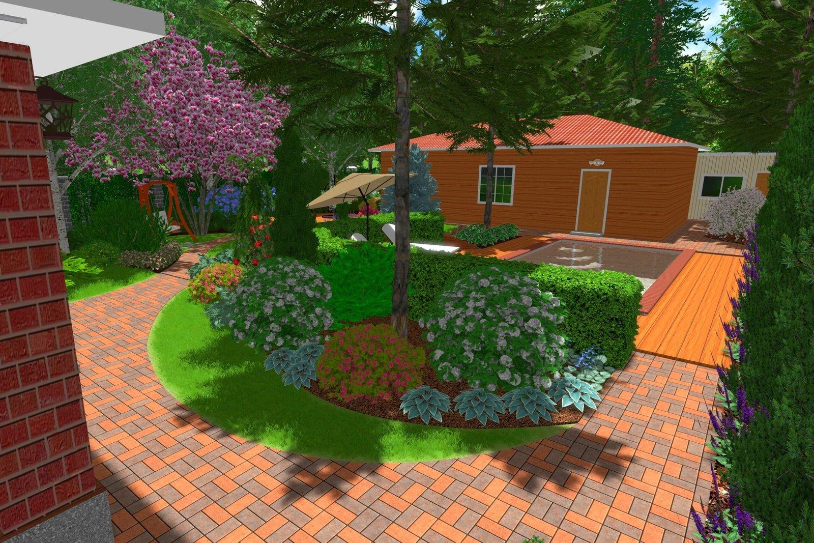 Профессиональная разработка ландшафтного дизайна, Ландшафтный дизайн, проектирования участков