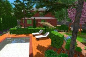 гармоничного проектирования ландшафтного дизайна, воплощения ландшафтного дизайна на практике
