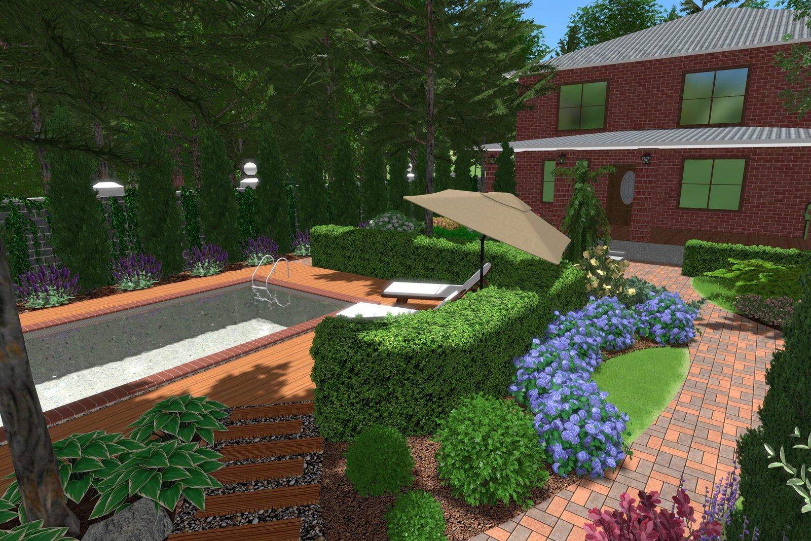 профессиональный ландшафтный дизайн, ландшафтный дизайн вокруг дома