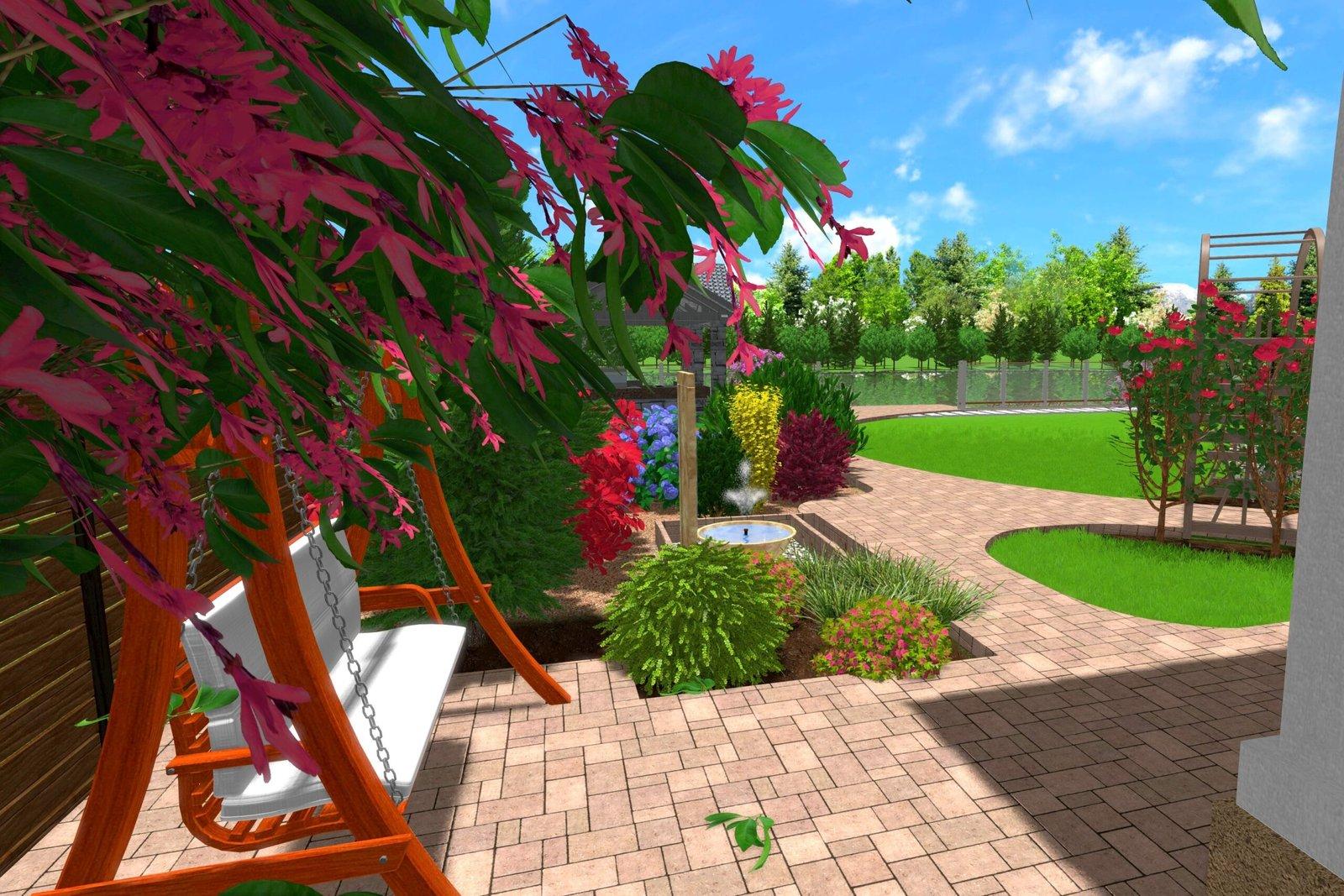 Стильный ландшафтный дизайн дачного участка, оформления собственного загородного участка,