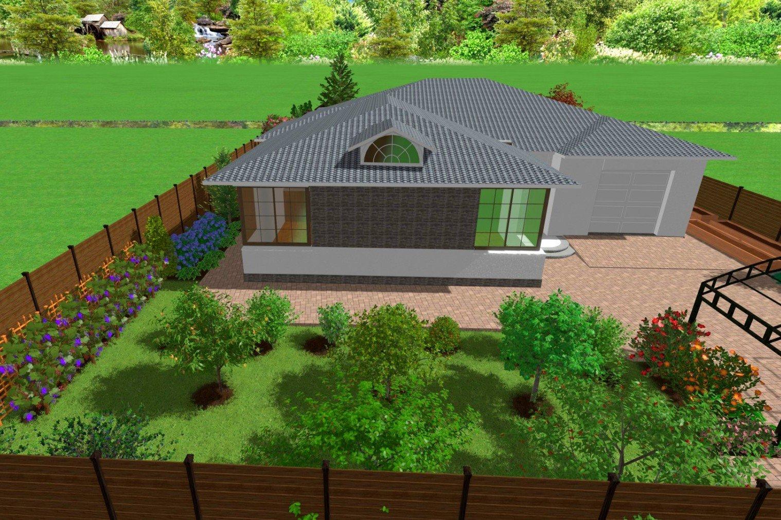 озеленение территории в Киеве, Ландшафтный дизайн проект пример, менеджеры по ландшафтному дизайну,