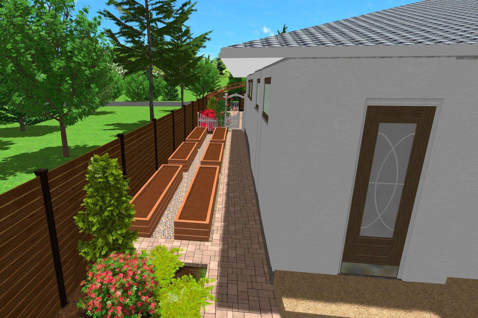 Основные принципы ландшафтного дизайна, Дизайн дачного участка с огородом, цельная территория участка, уютный ландшафт,
