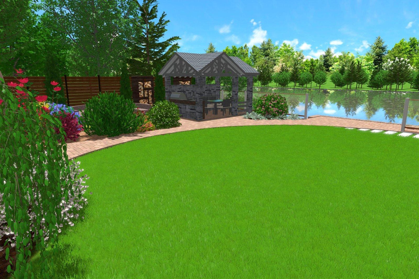 композиция ландшафта на участке, дизайн садового участка и огорода, Привлекательные решения для садовой территории,